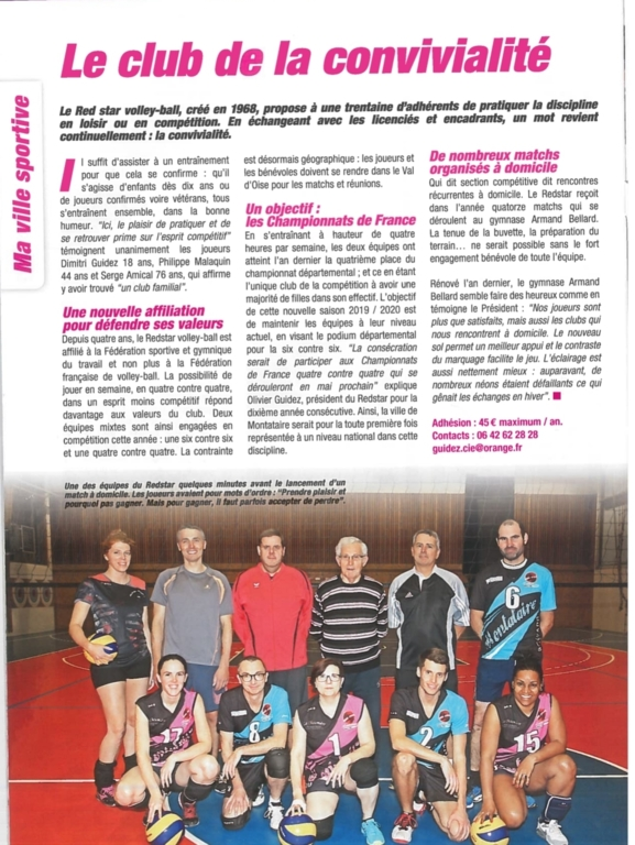 Article sur le club!!